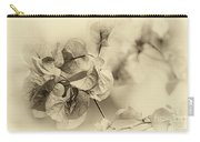 Vintage Floral By Kaye Menner Carry-all Pouch