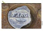 Vintage Fargo Wheel Art Carry-all Pouch