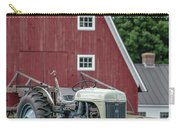 Vintage Ford Farm Tractor With Red Barn Carry-all Pouch