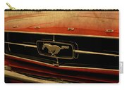 Vintage Ford Mustang Hood Carry-all Pouch