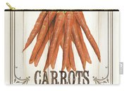 Vintage Fresh Vegetables 3 Carry-all Pouch