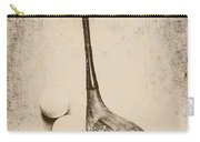 Vintage Golf Artwork Carry-all Pouch