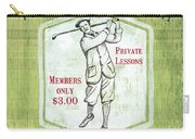Vintage Golf Green 1 Carry-all Pouch