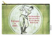 Vintage Golf Green 2 Carry-all Pouch