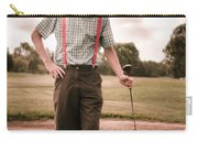 Vintage Golf Carry-all Pouch
