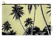 Vintage Hawaii Palms Carry-all Pouch