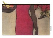 Vintage Hawaiian Woman Carry-all Pouch