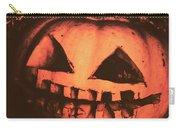 Vintage Horror Pumpkin Head Carry-all Pouch
