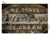 Vintage Ice Cream Mural  Carry-all Pouch
