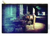 Vintage Industrial Blueprint Carry-all Pouch