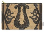 Vintage Iron Scroll Gate 2 Carry-all Pouch by Debbie DeWitt