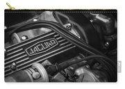 Vintage Jaguar Engine Carry-all Pouch