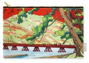 Vintage Japanese Art 6 Carry-all Pouch