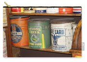 Vintage Lard Can Carry-all Pouch