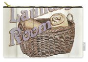 Vintage Laundry Room 2 Carry-all Pouch