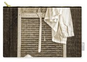 Vintage Laundry Room Carry-all Pouch by Edward Fielding