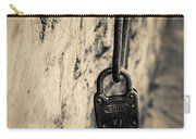 Vintage Lock Carry-all Pouch