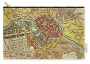 Vintage Map Of Berlin Germany - 1789 Carry-all Pouch