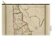 Antique Map Of Delaware Carry-all Pouch