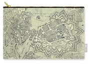 Vintage Map Of Geneva Switzerland - 1825 Carry-all Pouch