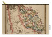 Antique Map Of Georgia Carry-all Pouch