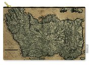 Vintage Map Of Ireland 1771 Carry-all Pouch