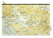 Vintage Map Of Olympia Greece - 1894 Carry-all Pouch