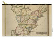 Antique Map Of United States Carry-all Pouch