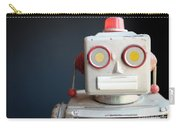 Vintage Mechanical Robot Toy Carry-all Pouch
