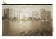 Vintage Miami Beach Carry-all Pouch