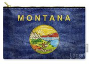 Vintage Montana Flag Carry-all Pouch