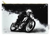Vintage Motorcycle Racer Carry-all Pouch