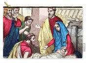 Vintage Nativity Scene Carry-all Pouch