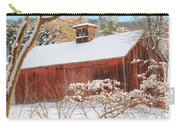 Vintage New England Barn Portrait Carry-all Pouch by Bill Wakeley