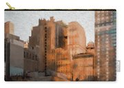 Vintage New York City Apartments Carry-all Pouch