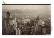 Vintage New York City Panorama Carry-all Pouch