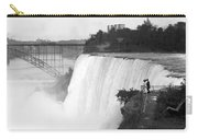 Vintage Niagara Falls - View From Goat Island - 1908 Carry-all Pouch