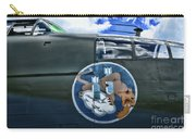 Vintage Nose Art B-25j Mitchell Carry-all Pouch