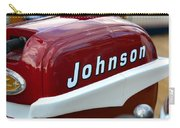 Vintage Johnson Outboard Red  Carry-all Pouch