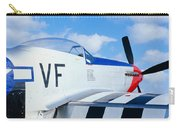 Vintage P51 Fighter Aircraft, Burnet Carry-all Pouch