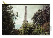 Vintage Paris Landscape Carry-all Pouch
