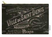 Vintage Paris Sign Carry-all Pouch