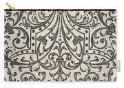 Vintage Parterre Design Carry-all Pouch