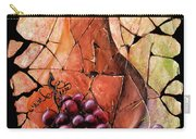 Vintage  Pear And Grapes Fresco   Carry-all Pouch