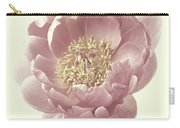 Vintage Peony Flower Carry-all Pouch