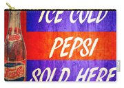 Vintage Pepsi Cola Barn Door Carry-all Pouch