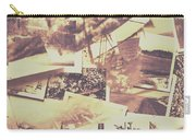 Vintage Photo Design Abstract Background Carry-all Pouch