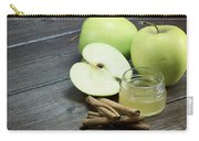 Vintage Photo Of Green Apples Carry-all Pouch