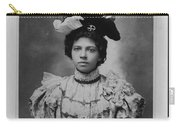 Vintage Photo Of Young Pretty Colored Lady Carry-all Pouch