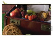 Vintage Picnic With A Splash Of Color Carry-all Pouch